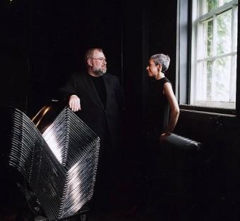 Paul Jones and Rona Maynard in the Helen Gardiner Phelan Playhouse at UC