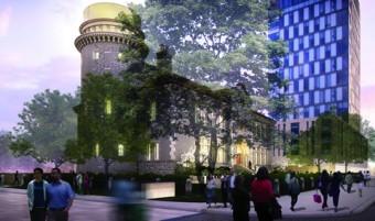 Architect: Kuwabara Payne McKenna Blumberg Architects - Tom Payne, Partner in Charge Rendering: Norm Li AG+I