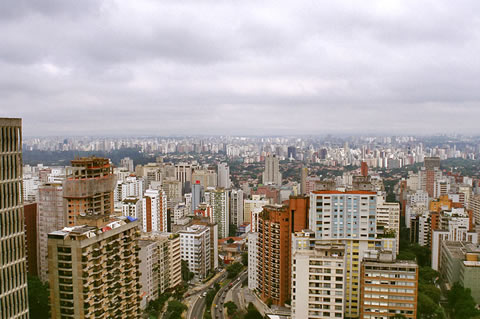 Downtown Sao Paolo, by Fernando Stankuns, http://www.flickr.com/photos/stankuns/