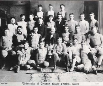 150 Years of Varsity Football, Photo: University of Toronto Archives