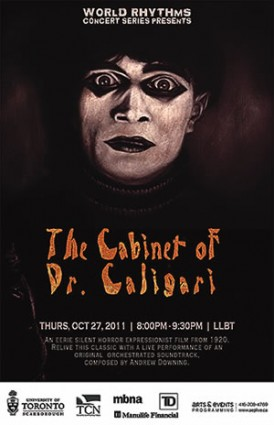 World Rhythms: Concert presents: The Cabinet of Dr. Caligari