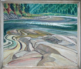 Painting by Doris Jean McCarthy
