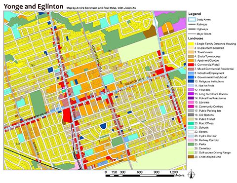 Map of Yonge and Eglinton