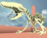 Dinosaur in Janus VR
