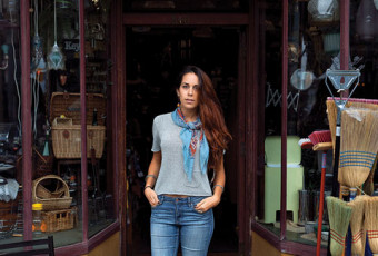 Vera Belazelkoska at Ralph's Hardware, a Toronto store that reminds her of her Macedonian home