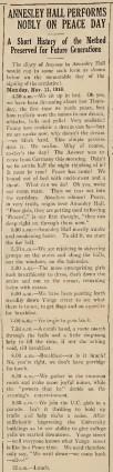 The Varsity, Nov. 13, 1918