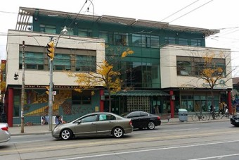 The IMAGINE clinic is housed in this community health building at Bathurst and Queen. Credit: Jelena Damjanovic