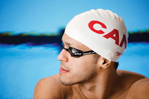 Zack Chetrat will compete for Canada in the 200-metre butterfly at the Pan Am Games. Photo by Sandy Nicholson.