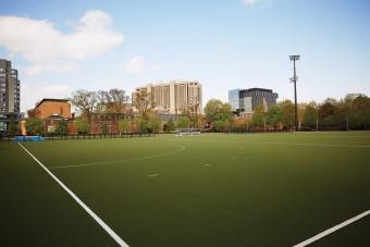 Back Campus Fields. Photo by Sandy Nicholson.