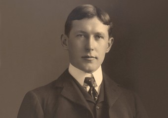 John McCrae. Photo courtesy of the Guelph Museum.