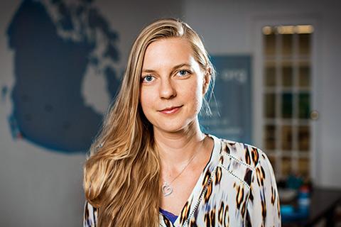Photo of Erin Hodgson by James Poremba