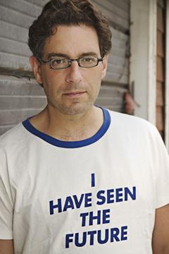 Author Hal Niedzviecki.