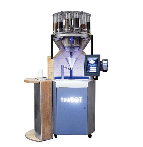 Photo of a teaBOT robot