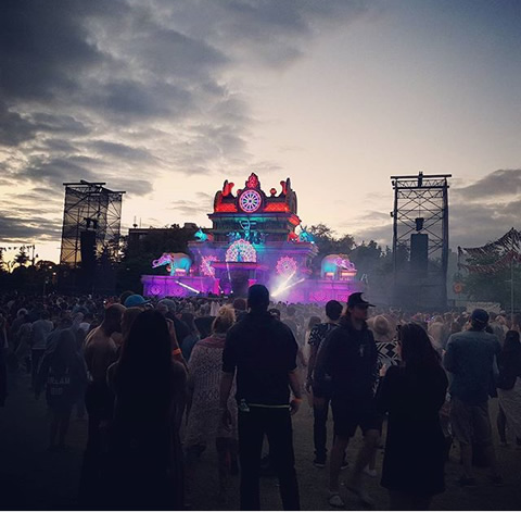 "Instagram Runner-up: ""Bestival Toronto at Dusk"" by Denise Ing"