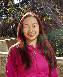 Photo of Zihan Cai outside Robarts Library