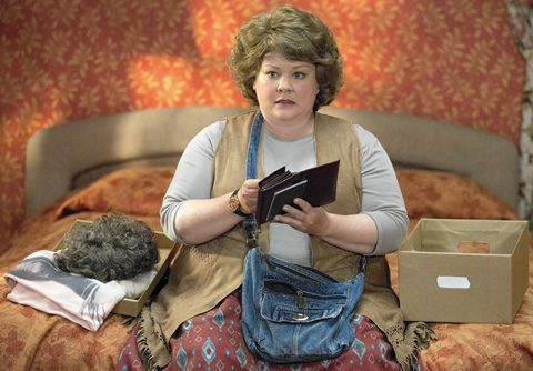 Melissa McCarthy's character in Spy, undercover as Carol Jenkins.