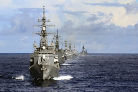 US navy ships