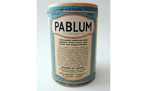 Jar of pablum