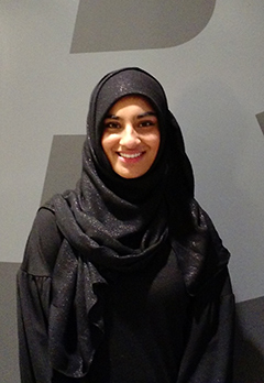 Closeup photo of Khadija Waseem outside the Rotman School of Management