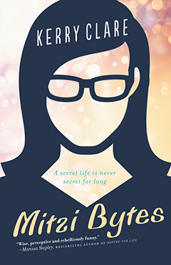 Cover of Mitzi Bytes, by Kerry Clare