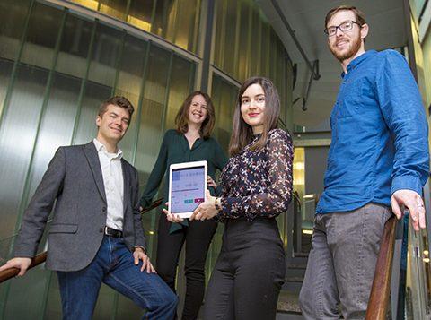 The WinterLight Labs team: Frank Rudzicz, Katie Fraser, Maria Yancheva and Liam Kaufman