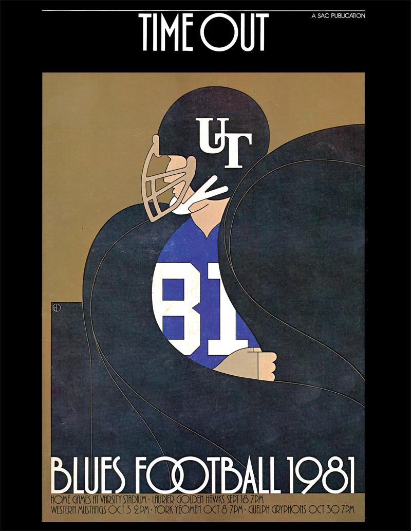 150 Years Of Varsity Football U Of T Football Blues Football