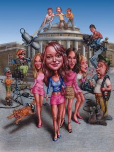 Illustration of Mean Girls