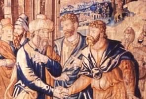 Medieval European tapestry