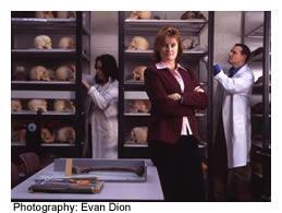 Forensics professor Tracy Rogers