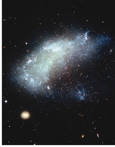 Photo of a galaxy