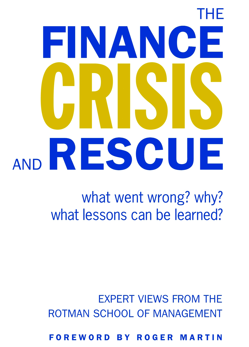 The Finance Crisis and Rescue