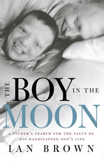 Book cover: the boy in the moon