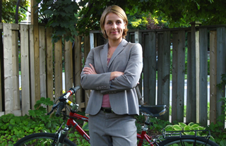 Kristen Courtney is lawyer and a founding member of Bells on Bloor.