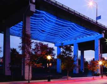 Watertable, an installation under the Gardiner