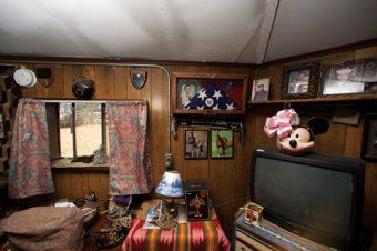 Rock Springs, New Mexico - The home of Navajo elder Berta Tom in Rock Springs