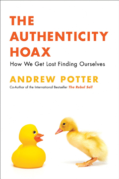 Book cover: Authenticity Hoak