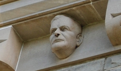 University College bust of Claude Bissell