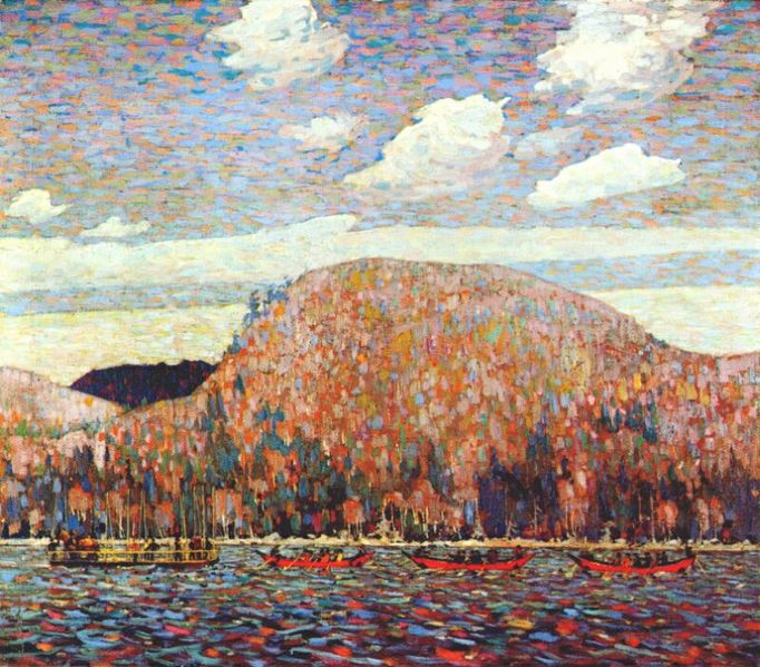 The Pointers by Tom Thomson