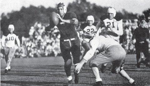 Lawson - football at U of T