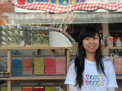 Audrey Ooi conducts her dessert tours every Sunday and alternate Fridays