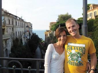 Trish De Luca and Ben Land