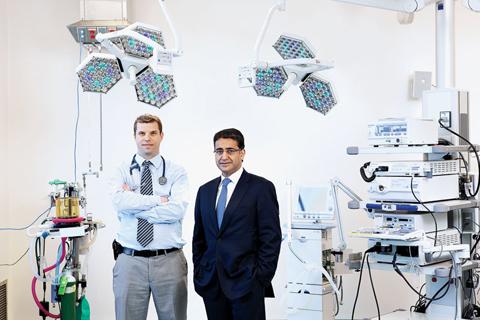 Dr. Marcelo Cypel and Dr. Shaf Keshavjee.