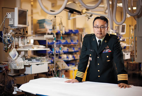 Dr. Homer Tien at Sunnybrook Health Sciences Centre in Toronto