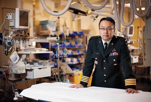 Dr. Homer Tien at Sunnybrook Health Sciences Centre in Toronto