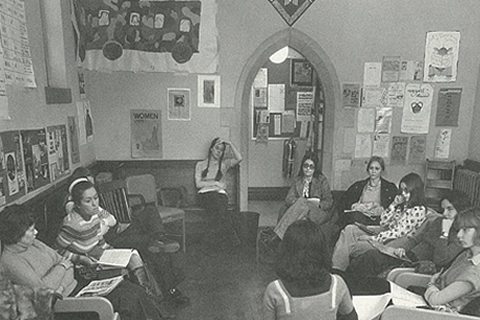 Women's Studies Class at UofT, 1975