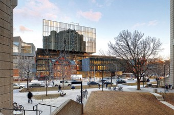 Photo of new Rotman Building