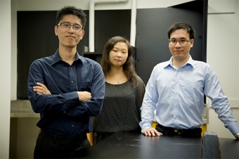 Jacky Mak, Wen Ma and Daniel Huynh. Photo by James Poremba