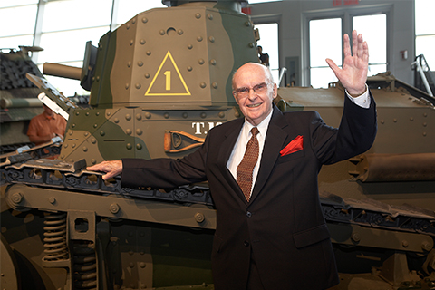 Richard Iorweth Thorman and the M1917 tank project