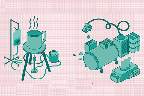 Illustrations of technology