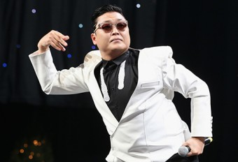 Photo of South Korean pop musician, Psy